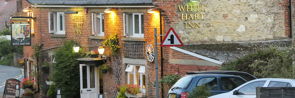 outside The White Hart Inn